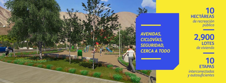 Avenidas, ciclovías y seguridad en Colinas de la Gloria